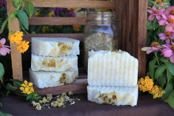 chamomile soap bar