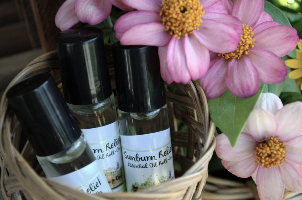 essential oil roll on blends