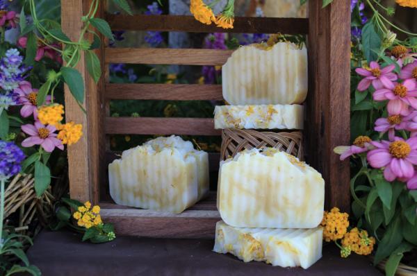 calendula soap bar